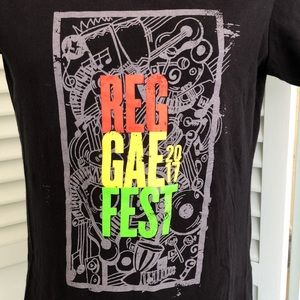 Reggae Fest 2017 Respek the Beat Bahama Breeze tee